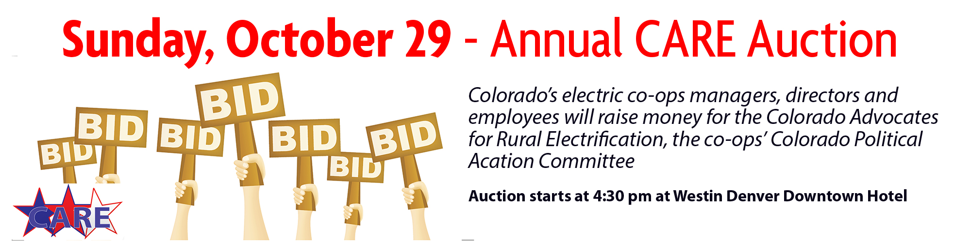 Sliders-CARE-Auction