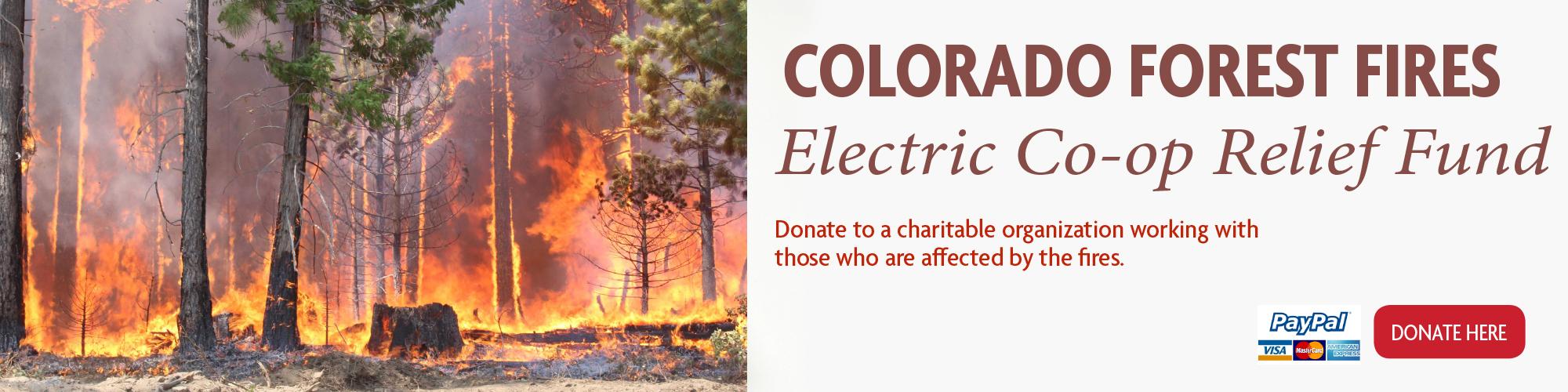 Fire Relief Fund Slider